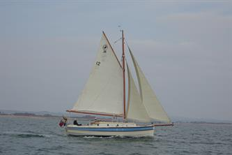 C26 Molly heading to Bembridge